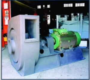 اگزاست فن سانتریفیوژ فشار بالا بصورت کوپلینگ